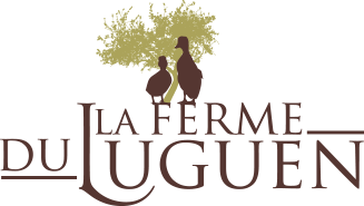 La ferme du Luguen, logo, foie gras, canard,
